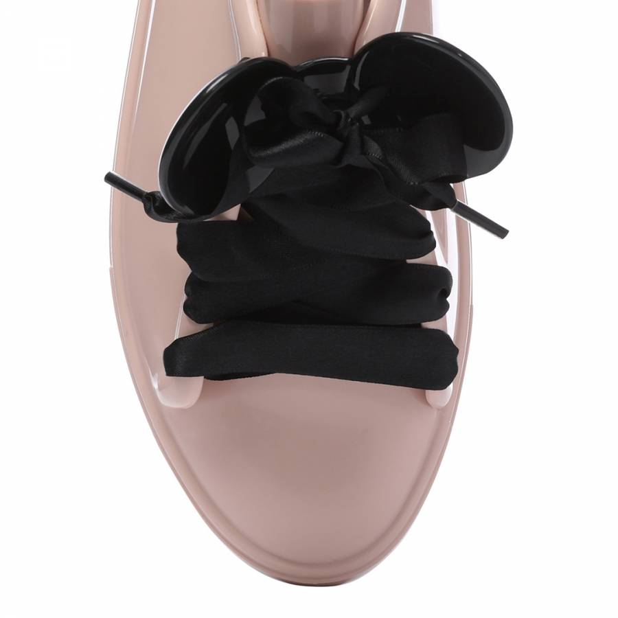 ecd0fa18b08 Blush Contrast Disney Be Lace Up Sneakers - BrandAlley
