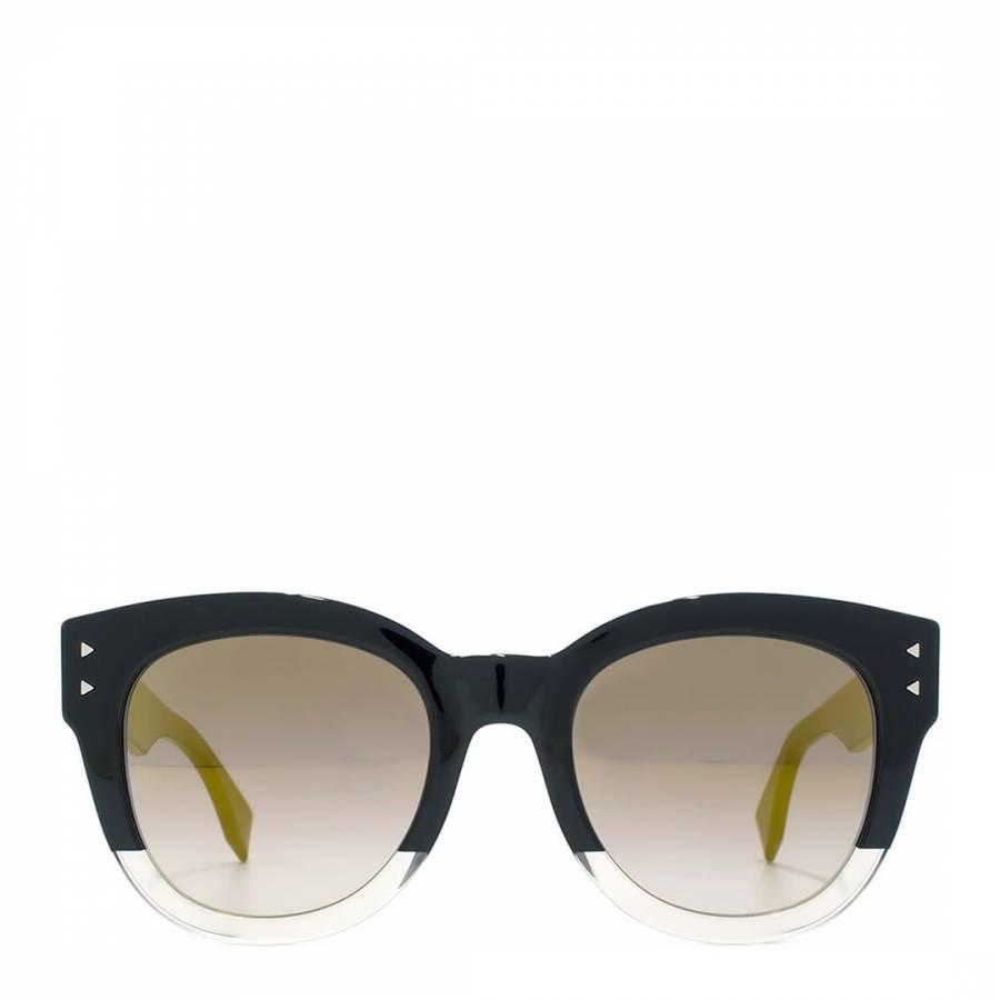 f5f5deced72 Women s Black and Yellow   Grey Graduated Sunglasses 50mm - BrandAlley