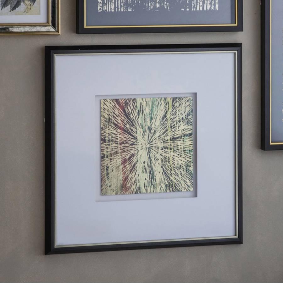 Multi coloured impact framed wall art brandalley for Multi frame wall art