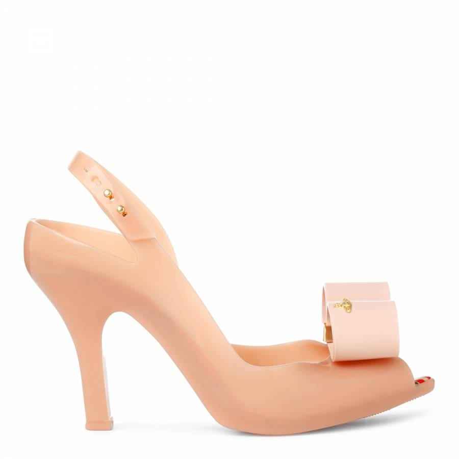 1bfafe84c22 Vivienne Westwood for Melissa Nude Lady Dragon Bow Heels