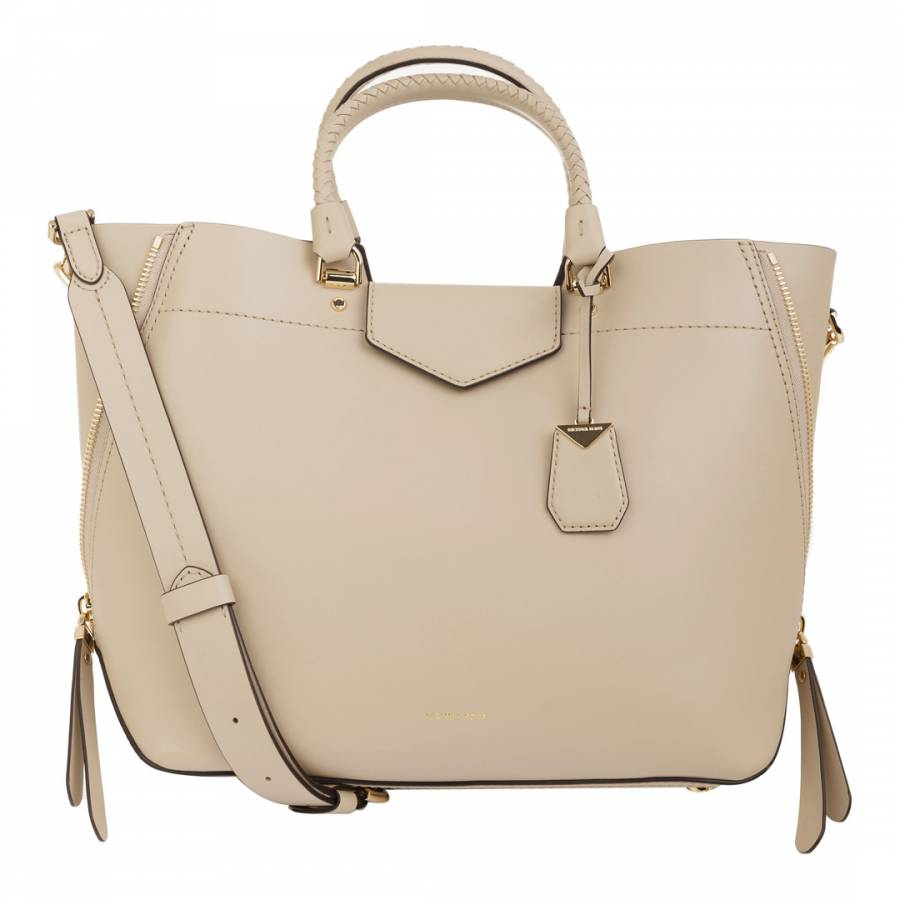 54143d845825 Michael Kors. Oat Blakely Large Leather Handbag