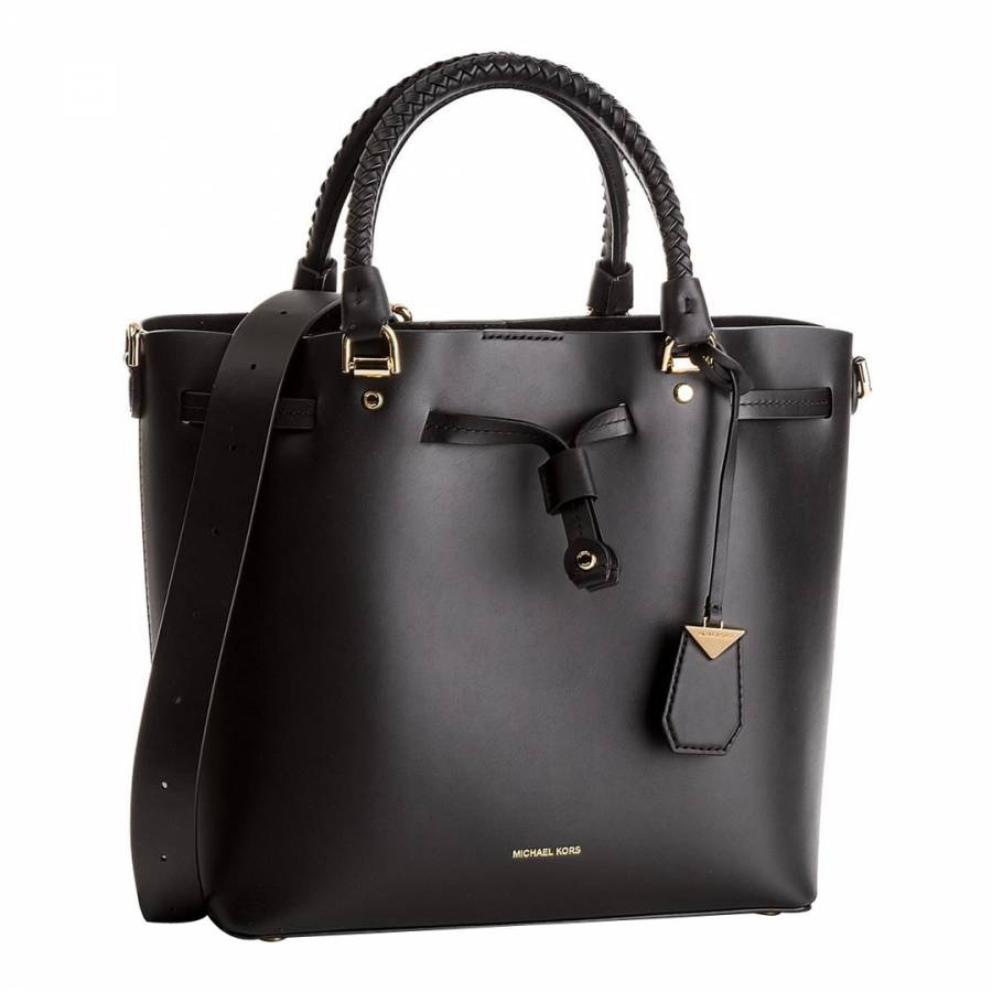 1cc3bd6033b Black Blakely Leather Bucket Bag - BrandAlley