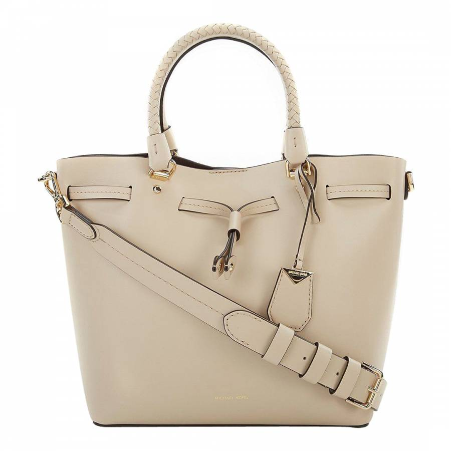 5f23182b1f10 Michael Kors Oat Blakely Leather Bucket Bag. prev. next. Zoom