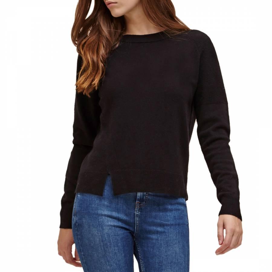 Black Karina Wool Cashmere Jumper - BrandAlley 453fffeedb42