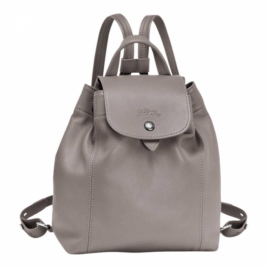40b5bcddfcc Longchamp Pebble Le Pliage Leather Backpack. prev. next. Zoom