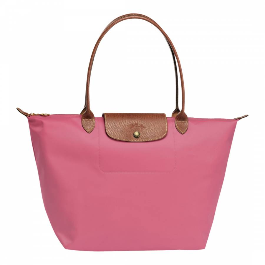 Longchamp Candy Pink Le Pliage Large Canvas Tote Bag. prev. next. Zoom 49d8a0ad0f4cd