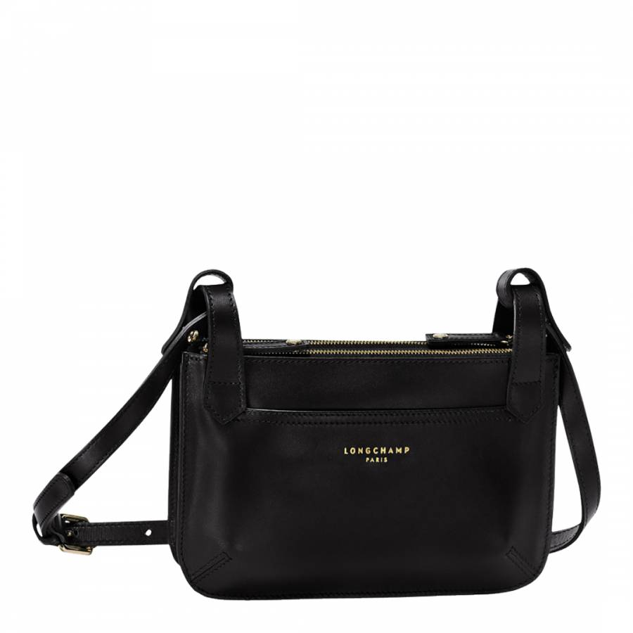 Continue Shopping Checkout · Longchamp Black 2.0 Leather Crossbody Bag.  prev. next. Zoom 01470490bf9c5