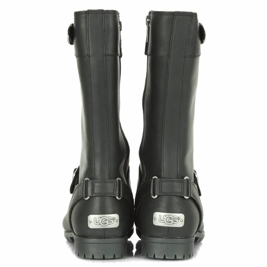 dff22b4940b UGG Black Leather Gershwin Boot