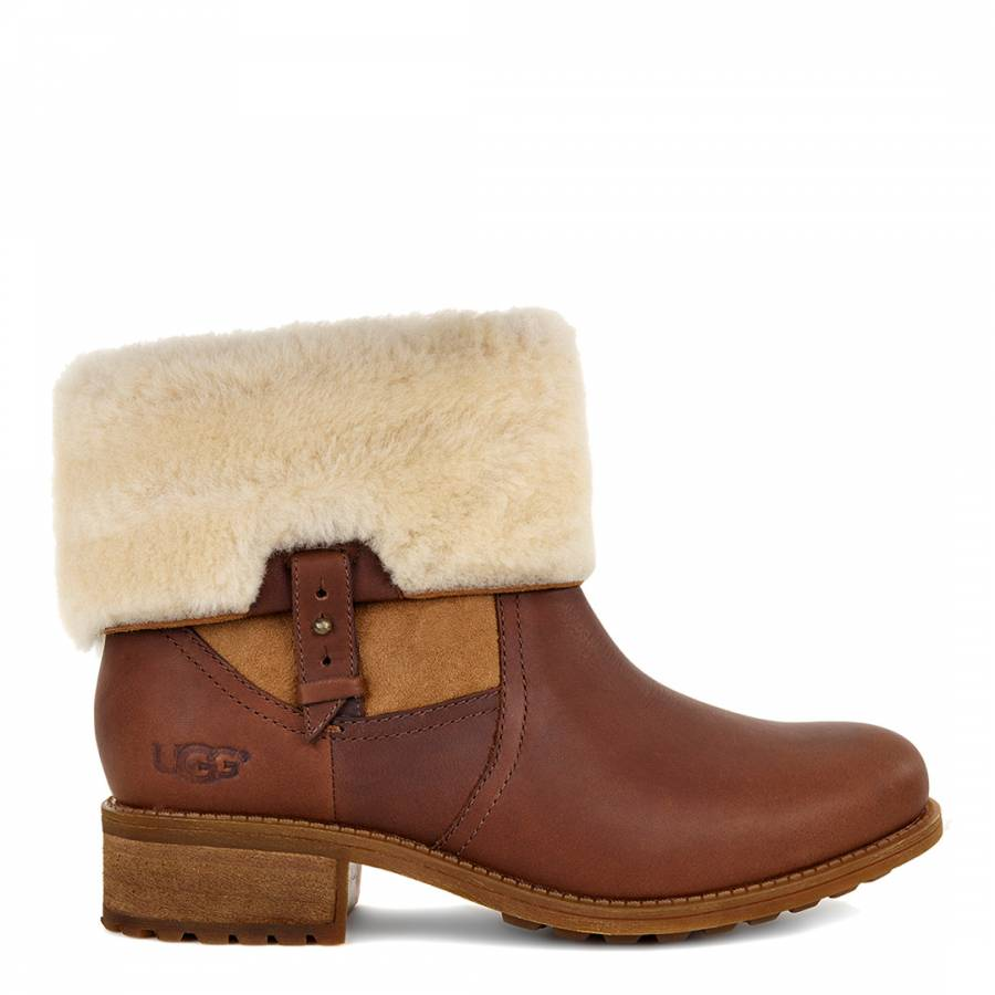 f2344942dcc Chestnut Leather Chyler Mid Sheep Boot