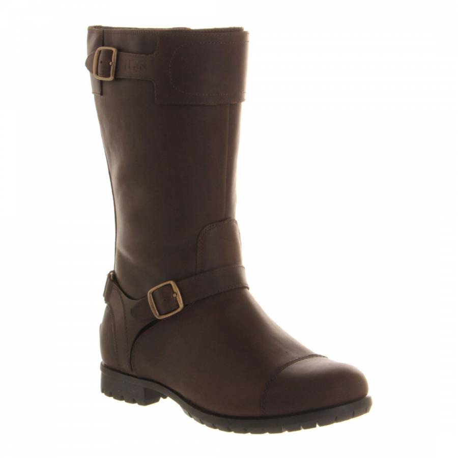 UGG Chocolate Leather Gershwin Boot