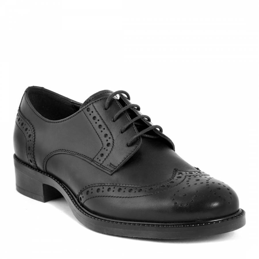 black leather oxford shoes brandalley