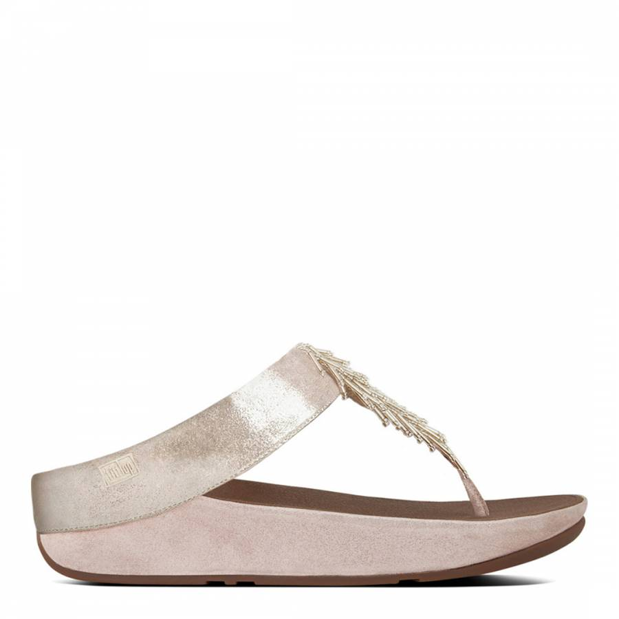 333c13a6d Women s Silver Suede Cha Cha Slides - BrandAlley