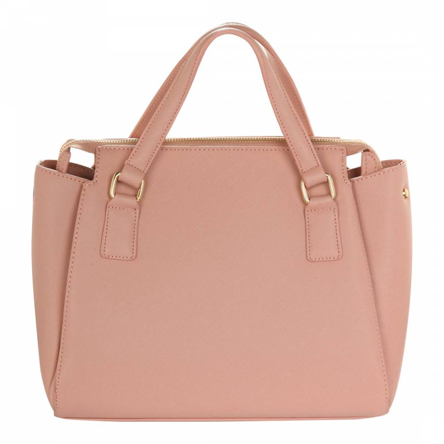 2214831ef6b5c6 Pink Leather Tote Bag - BrandAlley