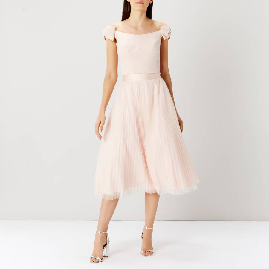 1e459f0360a Blush Scoop Bow Bridesmaid Top - BrandAlley