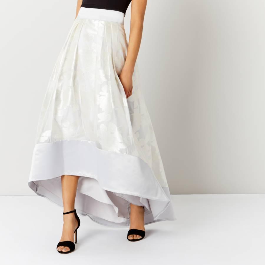 3e8f93c3d Silver Flower Rhian Skirt - BrandAlley