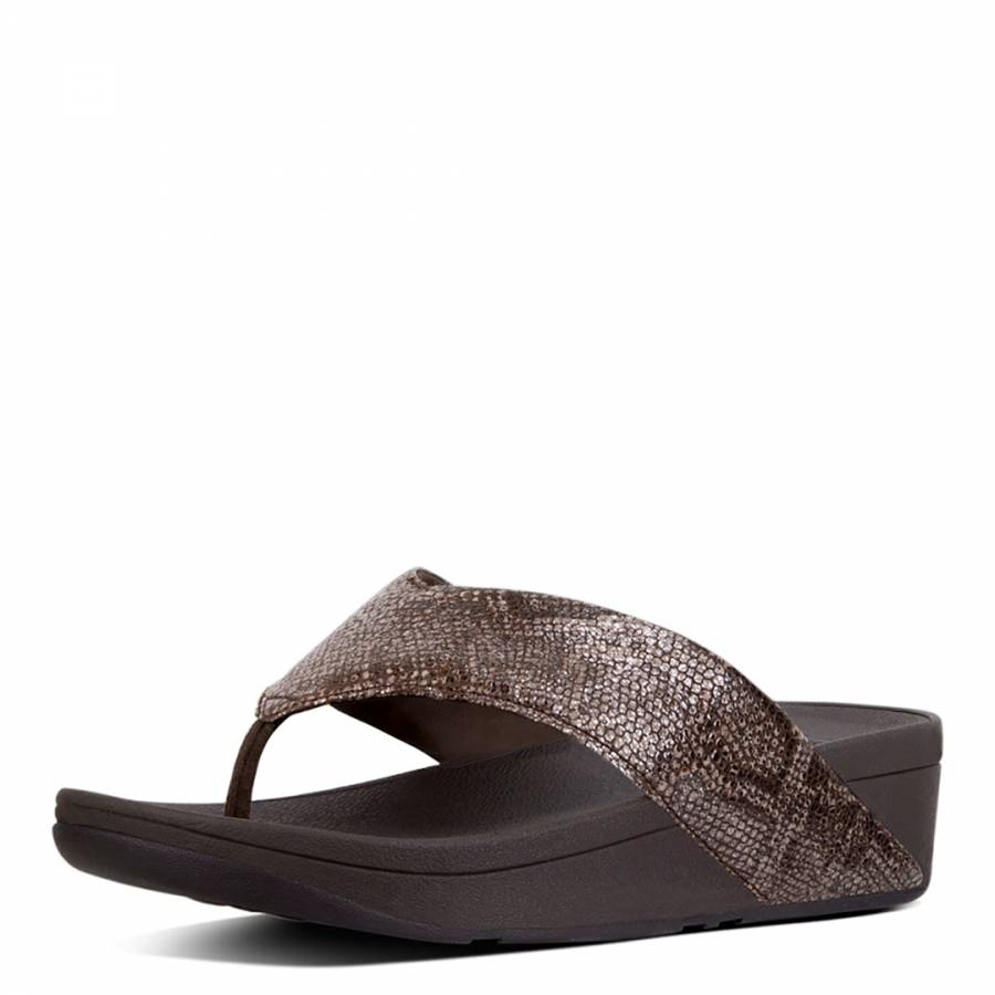 Leat Toe Swoop Toe ThongChocolate Swoop Fitflop Fitflop zSMpUVq