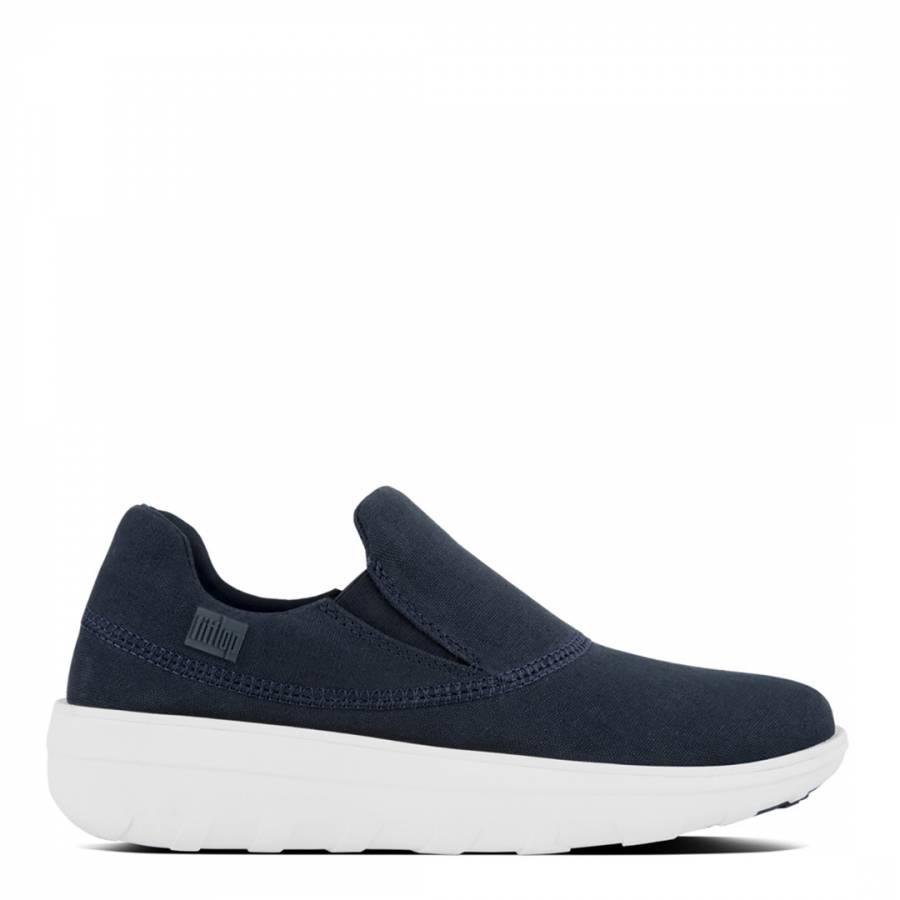 e7188974cd6 Supernavy Canvas Slip On Loaff Sneakers - BrandAlley