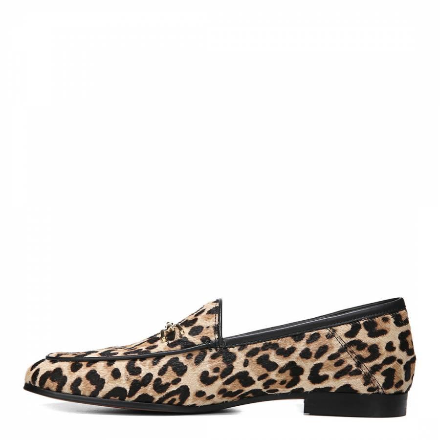 07d3c28cbea5e Leopard Print Loraine Loafers - BrandAlley