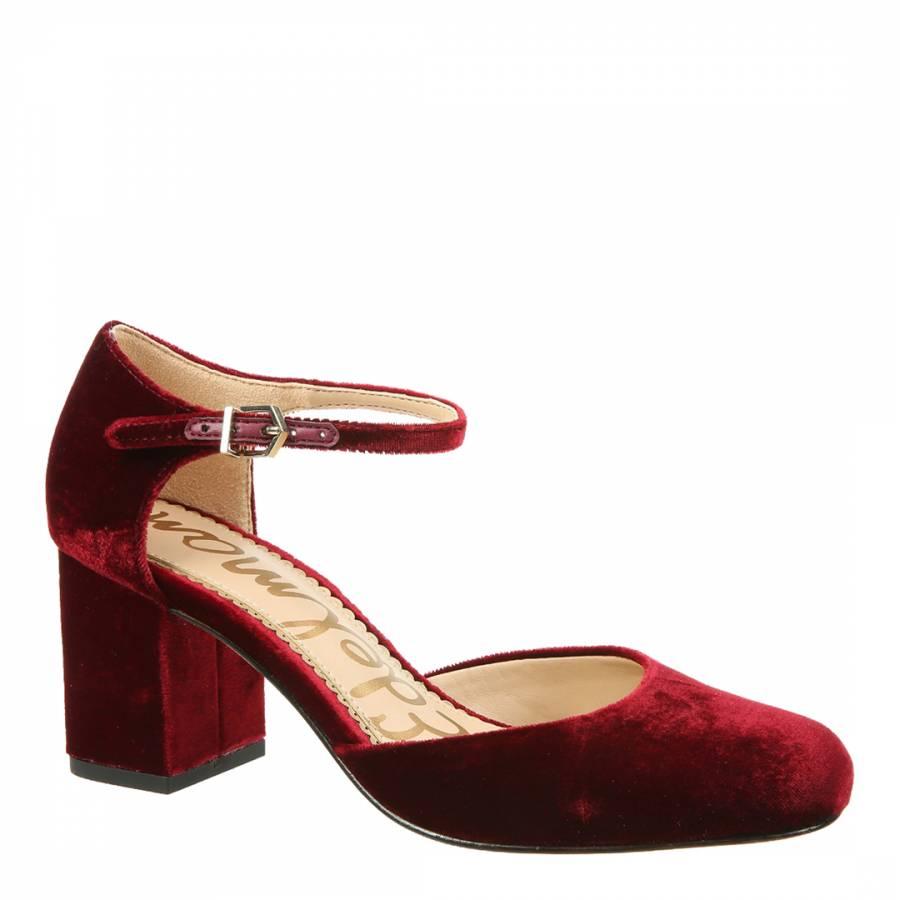 d6edd3779 Red Velvet Clover Mary Jane Heels - BrandAlley