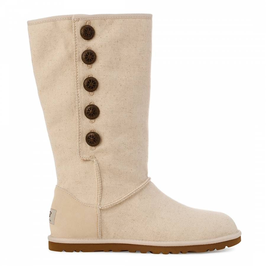 d5a6aea4665 Natural Canvas Lo Pro Marrakech Boots - BrandAlley