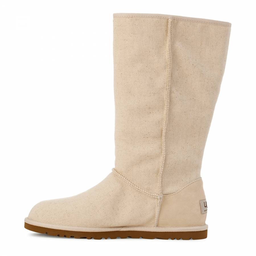 154366b7fca Natural Canvas Lo Pro Marrakech Boots - BrandAlley