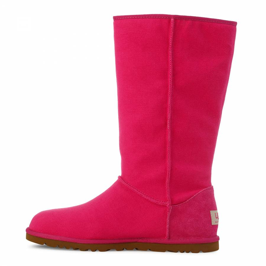8a494801af6 Pink Canvas Lo Pro Marrakech Boots - BrandAlley
