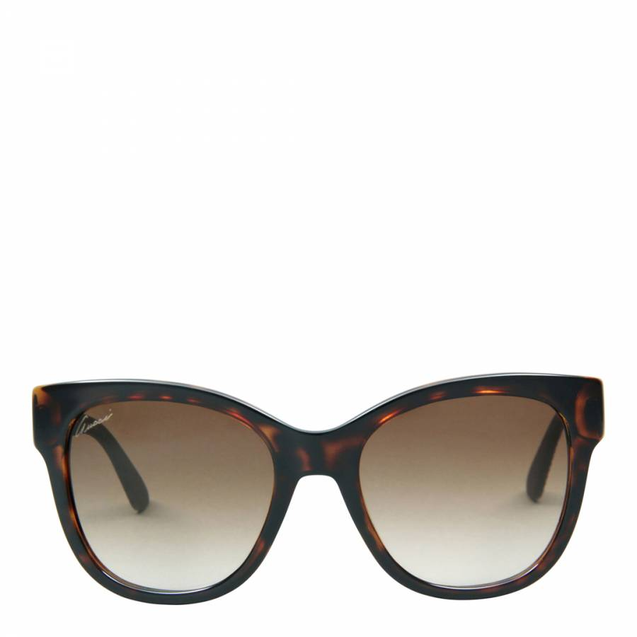 336deaacb7c Women s Havana Rubber Brown Brown Gradient Sunglasses 54mm - BrandAlley