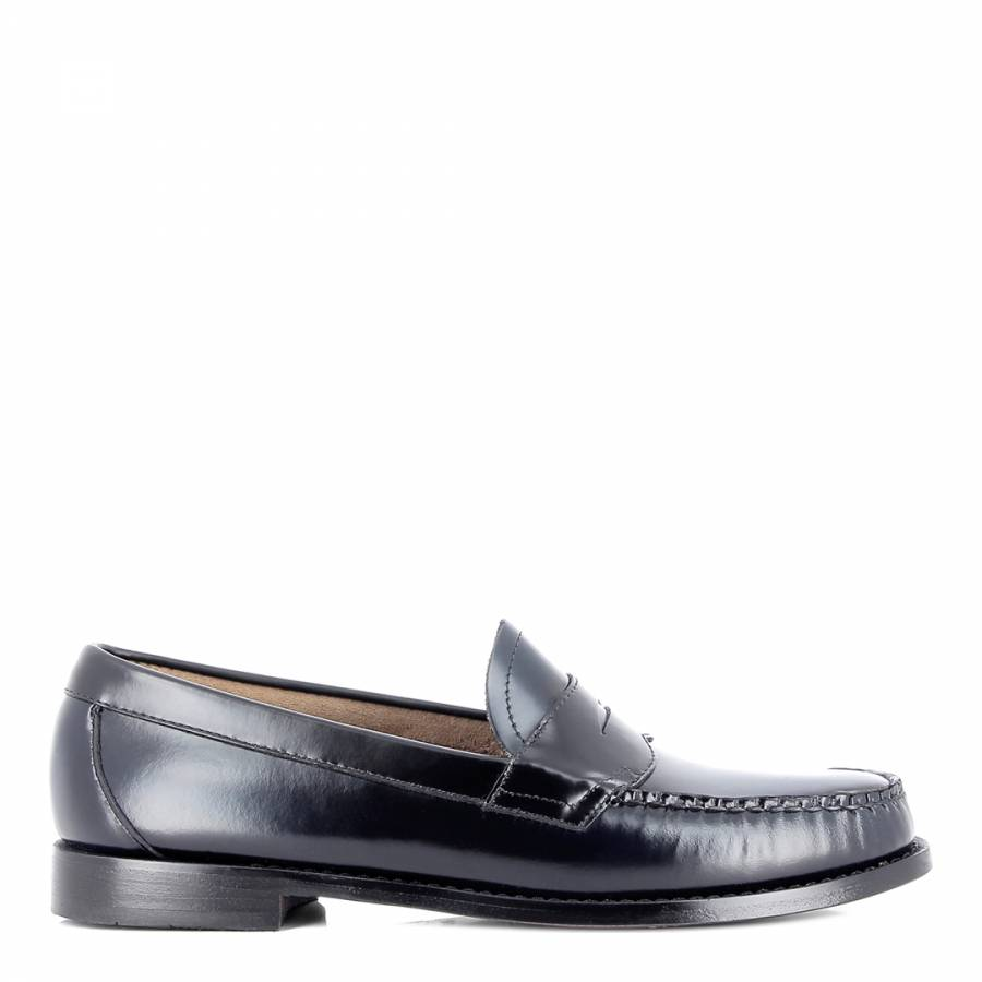 6866a196150 Men s Navy   Black Weejuns Logan Two Tone Penny Loafers - BrandAlley