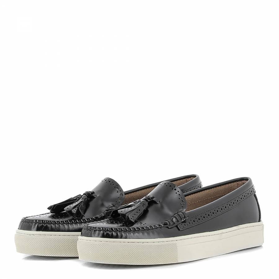 1b13d05b3f1 Women s Black Leather Weejuns Cup Estelle Loafers - BrandAlley