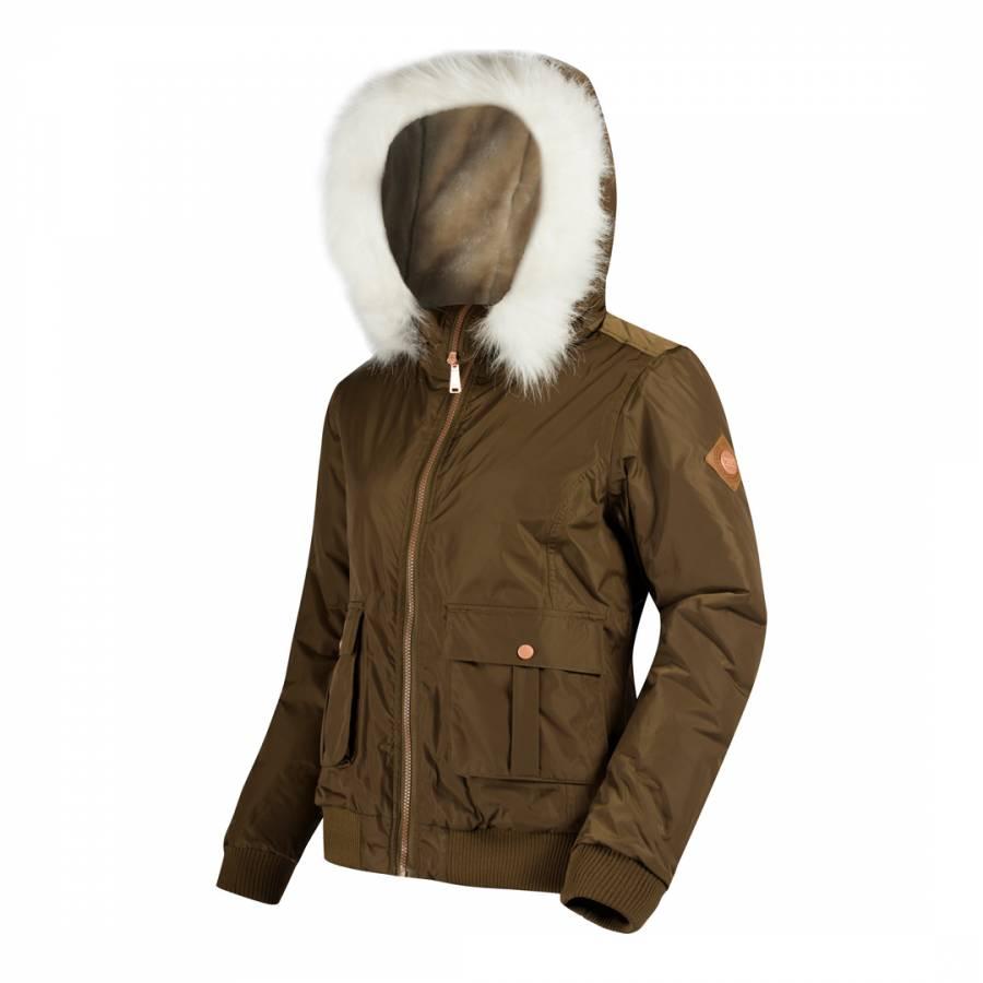 Camo green berdine bomber jacket brandalley