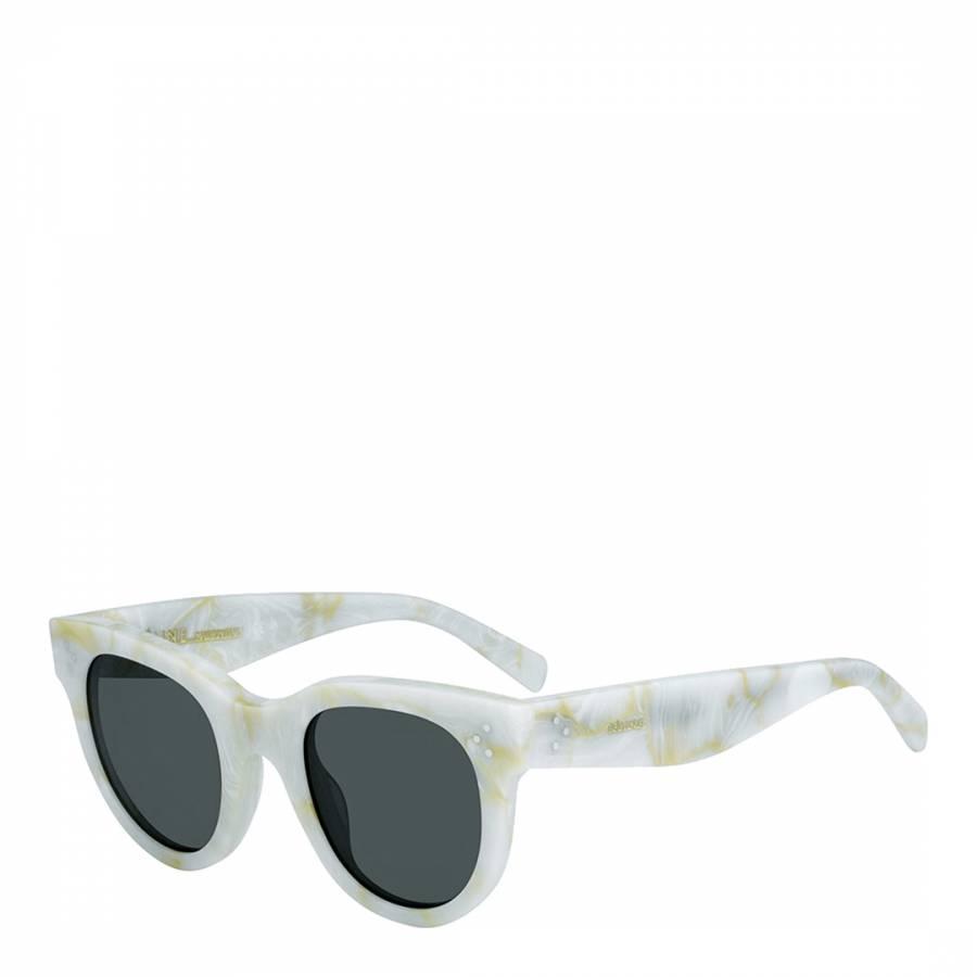b321a0b888 Women s White Baby Audrey Sunglasses 47mm - BrandAlley