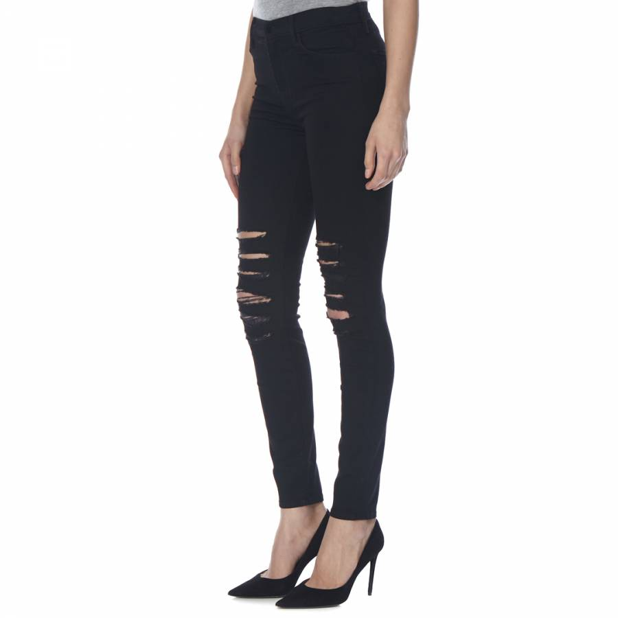 636a80d666cb J Brand. Black Heart Maria High Rise Skinny Stretch Jeans