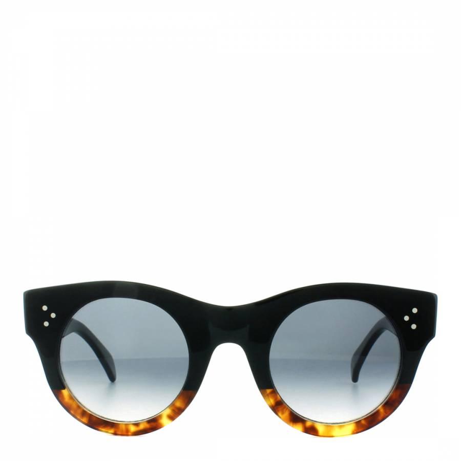 0141cf43330bd Zoom · Celine Women s Black Brown Alia Sunglasses 44mm