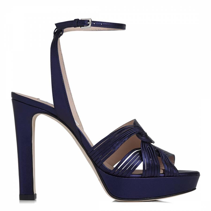 87dbc1c0fa BLU-NAVY LEIGHTON - PLATFORM SANDA Heeled Sandals - BrandAlley