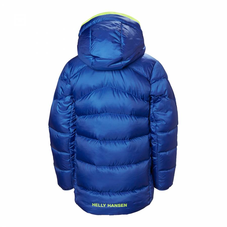 cd58b9f4 Blue Isfjord Down Mix Jacket - BrandAlley