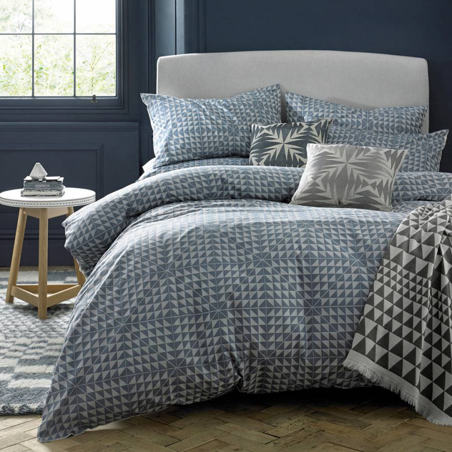 Stone Geocentric Double Duvet Cover Brandalley