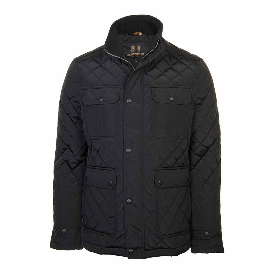Black Quilted Jacket Brandalley