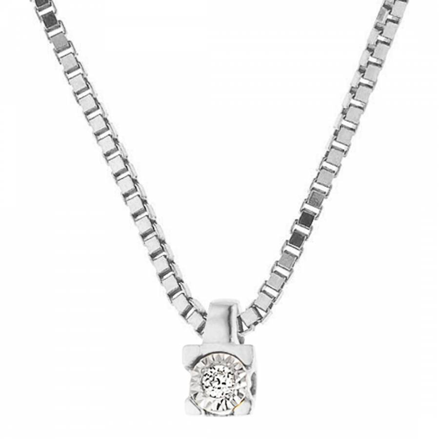 hubert white gold necklaces img jewelry diamond solitaire shop square necklace
