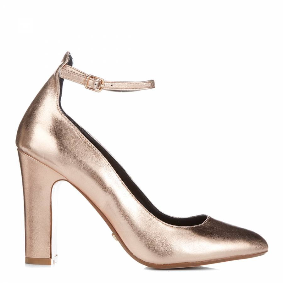Rose Gold Metallic Aalto Mary Jane