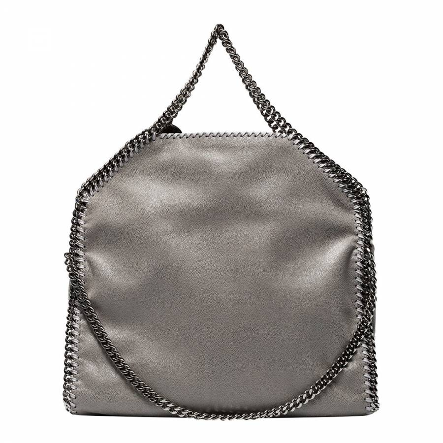 Stella McCartney Light Grey Falabella Shaggy Deer Fold Over Tote. prev.  next. Zoom e914c7df16bc6