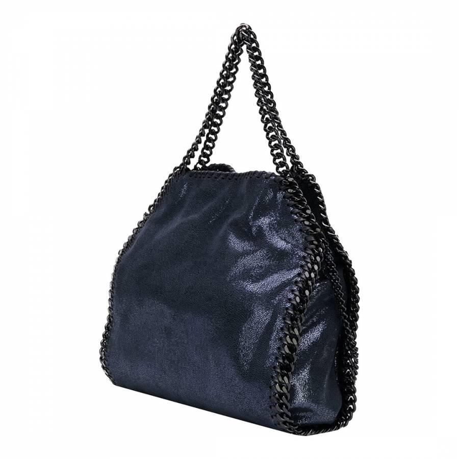 ff877dfe42 Stella McCartney Navy Large Blue Falabella Tote Bag
