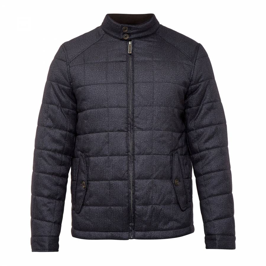 3b2c8bf3f0d036 Grey Rocket Square Quilted Jacket - BrandAlley