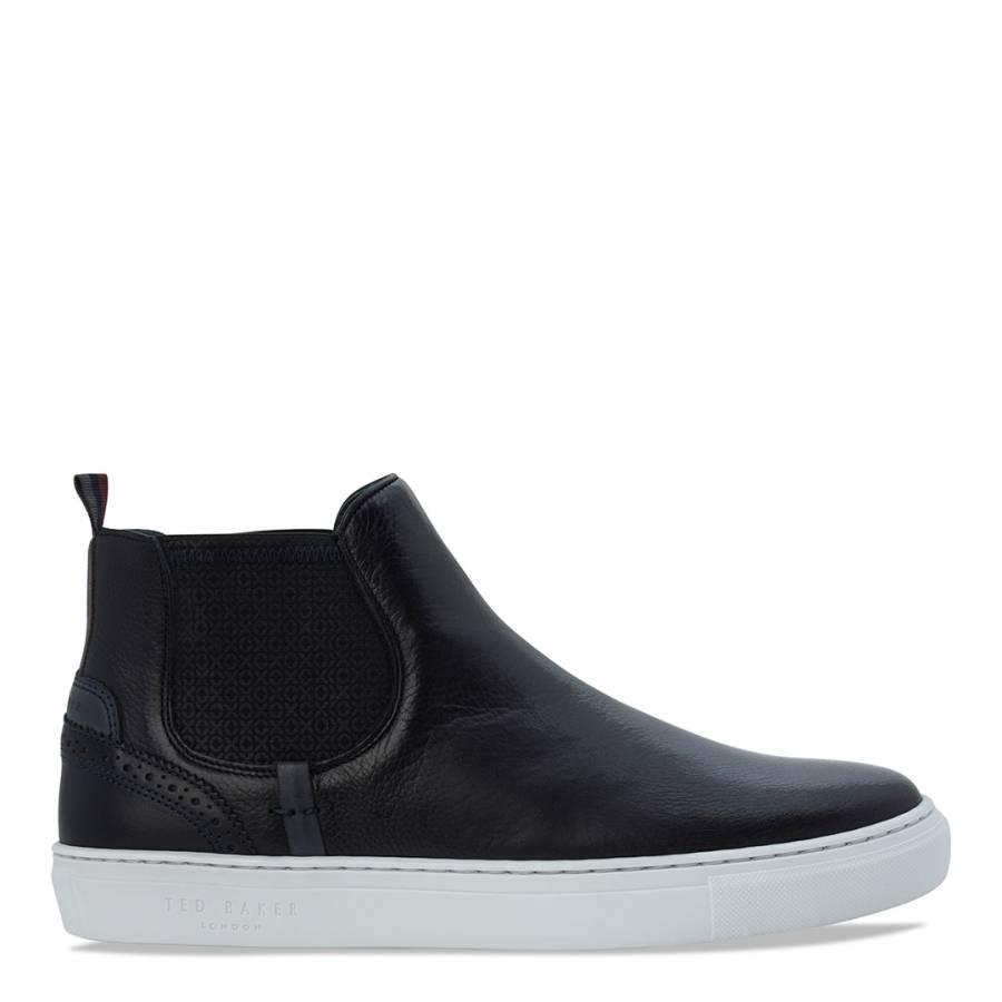 026750c02e7eb8 Black Leather Lykeen Chelsea Boots - BrandAlley