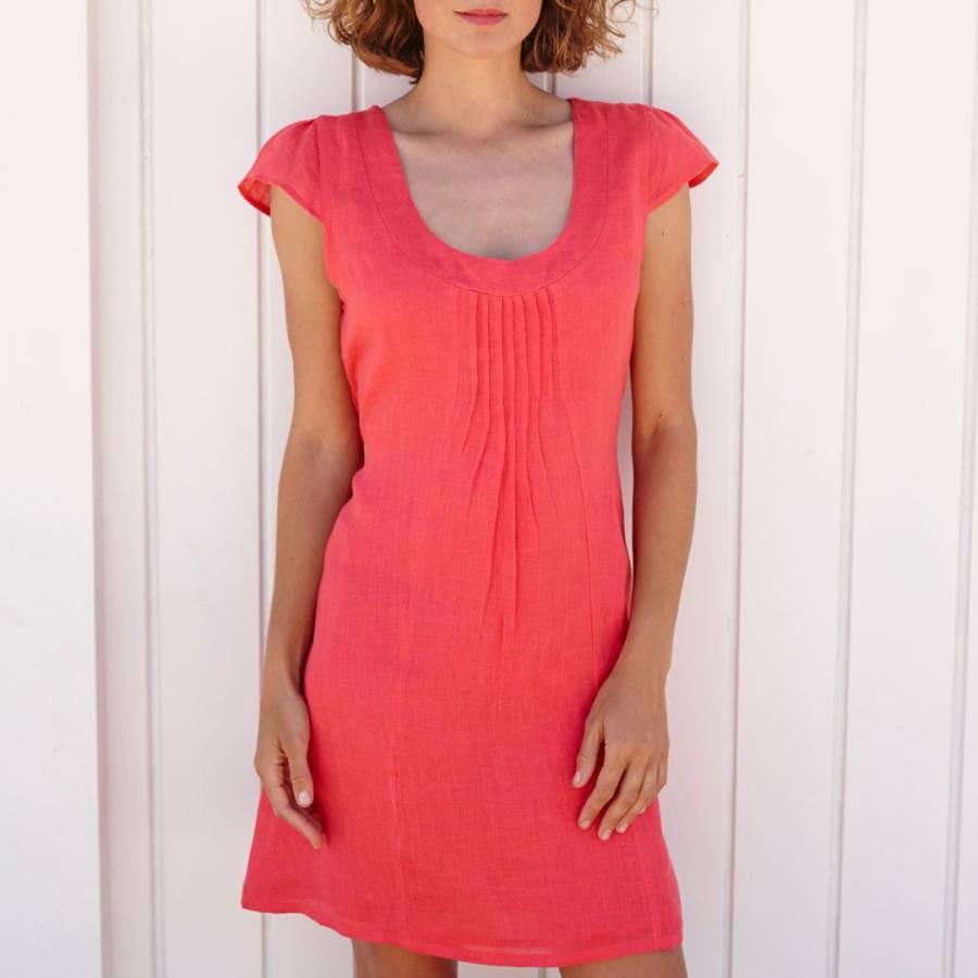9a66a2fea68 Coral Paris Linen Dress - BrandAlley