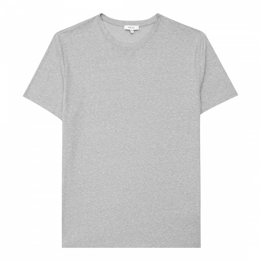 Grey marl barnington t shirt brandalley for Grey marl t shirt