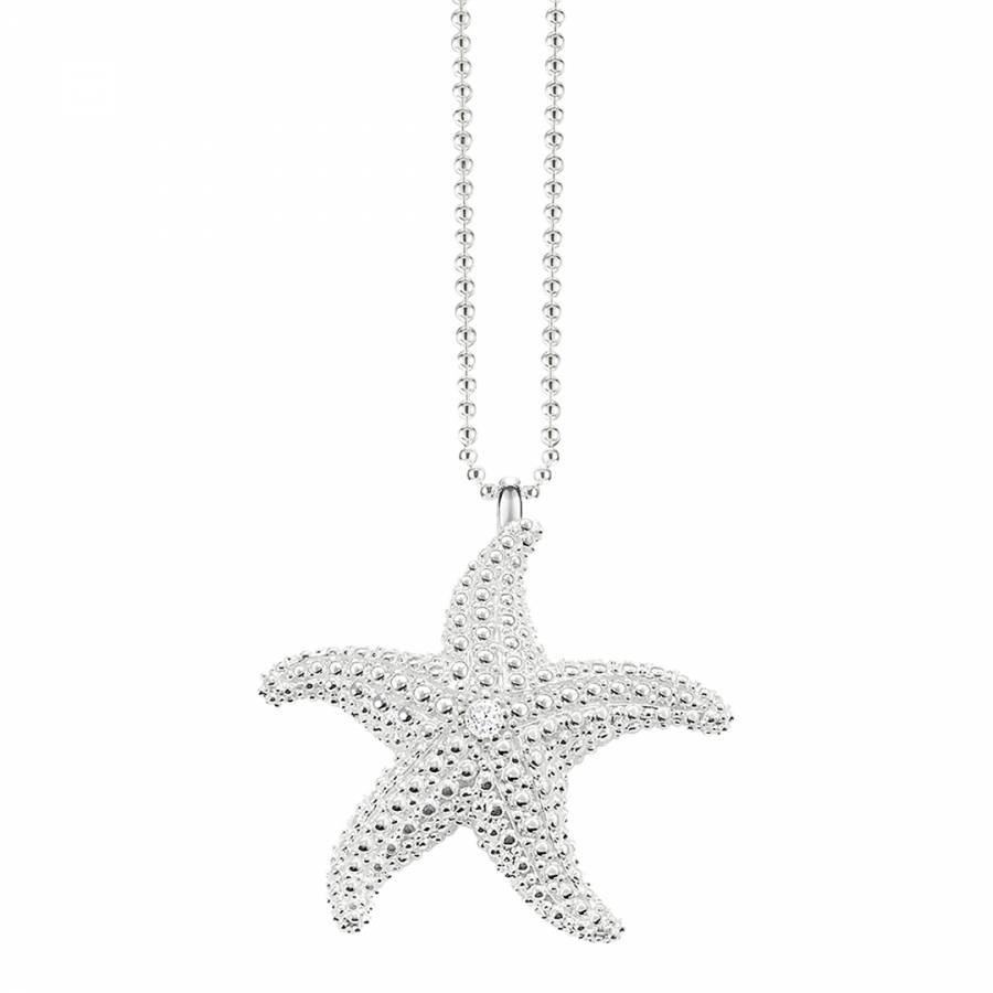 Womens sterling silver starfish necklace brandalley thomas sabo womens sterling silver starfish necklace aloadofball Gallery