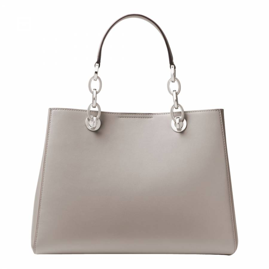 c328eea861c1 Pearl Grey Cynthia Satchel Bag - BrandAlley