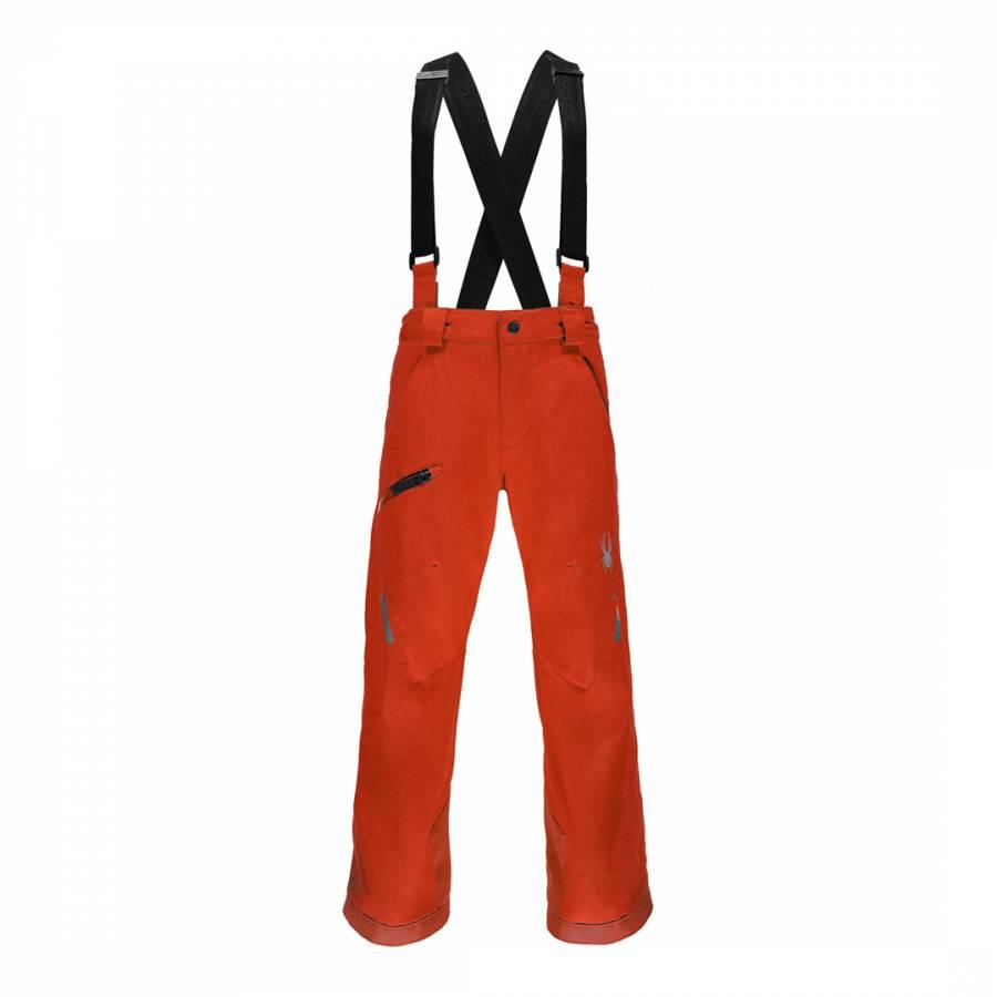 98c3497fc Spyder Kids Orange Propulsion Ski Trousers