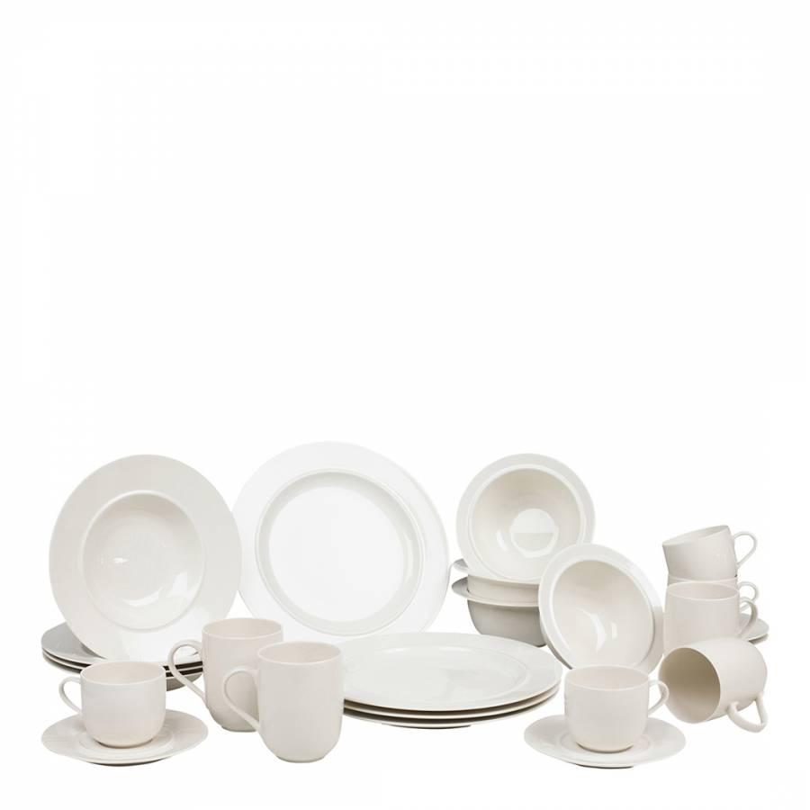 La Bella Tavola Porcelain 4 Place Setting Dining Set Brandalley