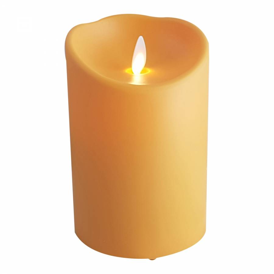 luminara outdoor candles. Luminara Orange Indoor/Outdoor Flameless Candle 13cm Outdoor Candles